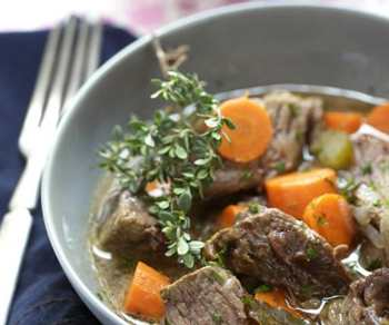 Говядина с морковью по-еврейски