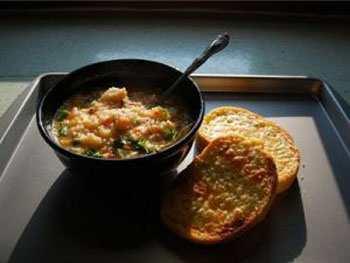 Постный суп рисовый