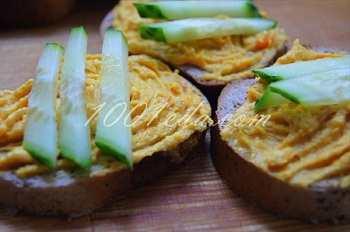 Морковно-селедочная закуска: рецепт с пошаговым фото