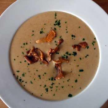 Баварский грибной суп-пюре