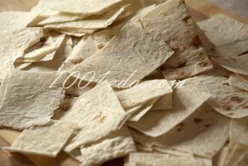Чипсы из лаваша: рецепт с пошаговым фото