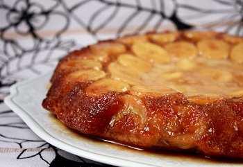 Домашний банановый пирог