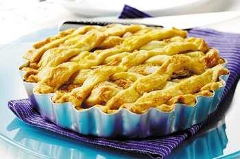 Домашний пирог с ананасом