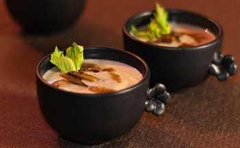 Грибной суп-пюре с сельдереем