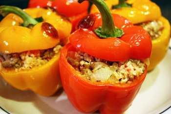 Испанский рецепт фаршированного перца