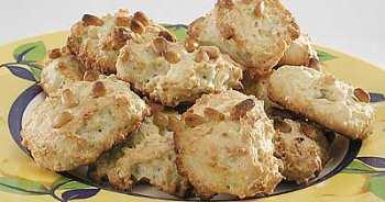 Итальянское печенье с кедровыми орешками