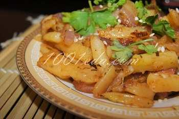 Картошка жаренная со специями:рецепт с пошаговым фото