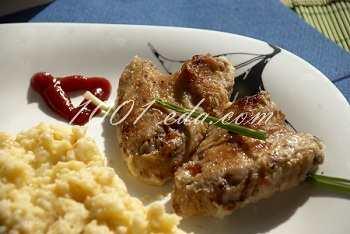 Крылышки в сливовом маринаде: рецепт с пошаговым фото