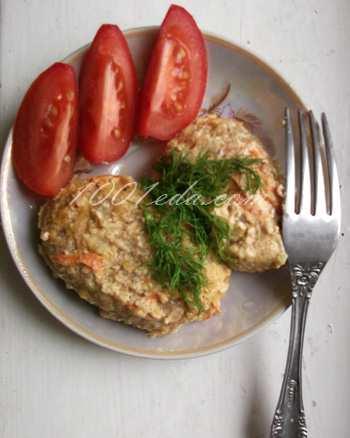 Ленивые голубцы в духовке с чесночной заливкой: рецепт с пошаговым фото