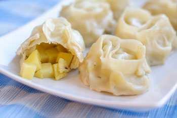Манты рецепт с картошкой