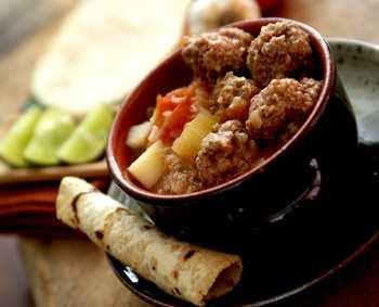 Мексиканский суп Альбондигас