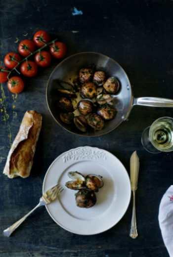 Моллюски с пряностями