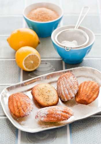 Печенье с лимоном и маком