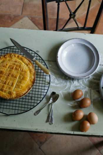 Рецепт баскского пирога