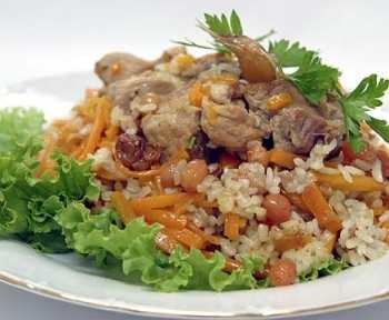 Рецепт куриного плова по-турецки