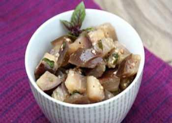 Салат баклажанный на зиму