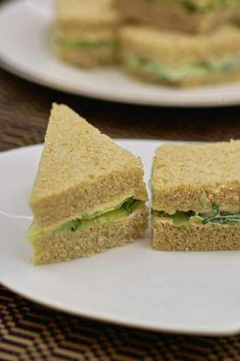 Сэндвичи с огурцами по-английски