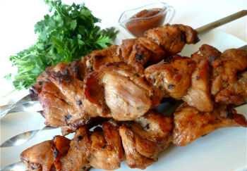 Шашлык ассорти из мяса