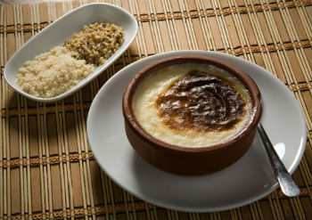 Старинный рисовый пудинг