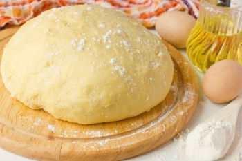 Тесто для пиццы из батона