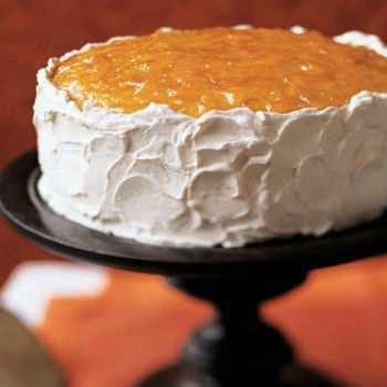 Торт с апельсиновым джемом