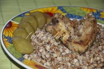 Вкусный ужин из гречки с курицей в духовке: рецепт с пошаговым фото