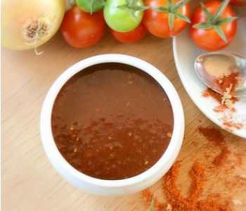 Закуска из помидор Огонек