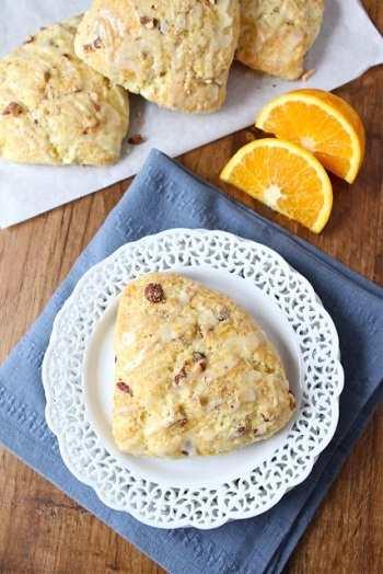 Апельсиновое печенье на миндальных хлопьях