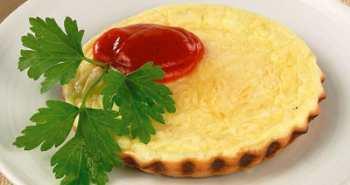 Омлет с сыром для детей