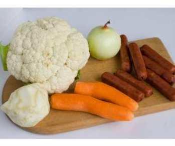Салат из макарон и ветчины «Скандинавия»