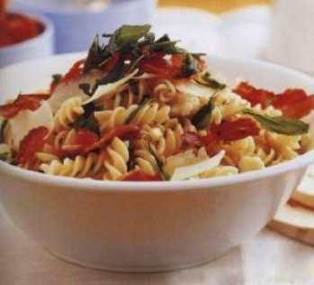 Салат из капусты и макарон «Европейский»